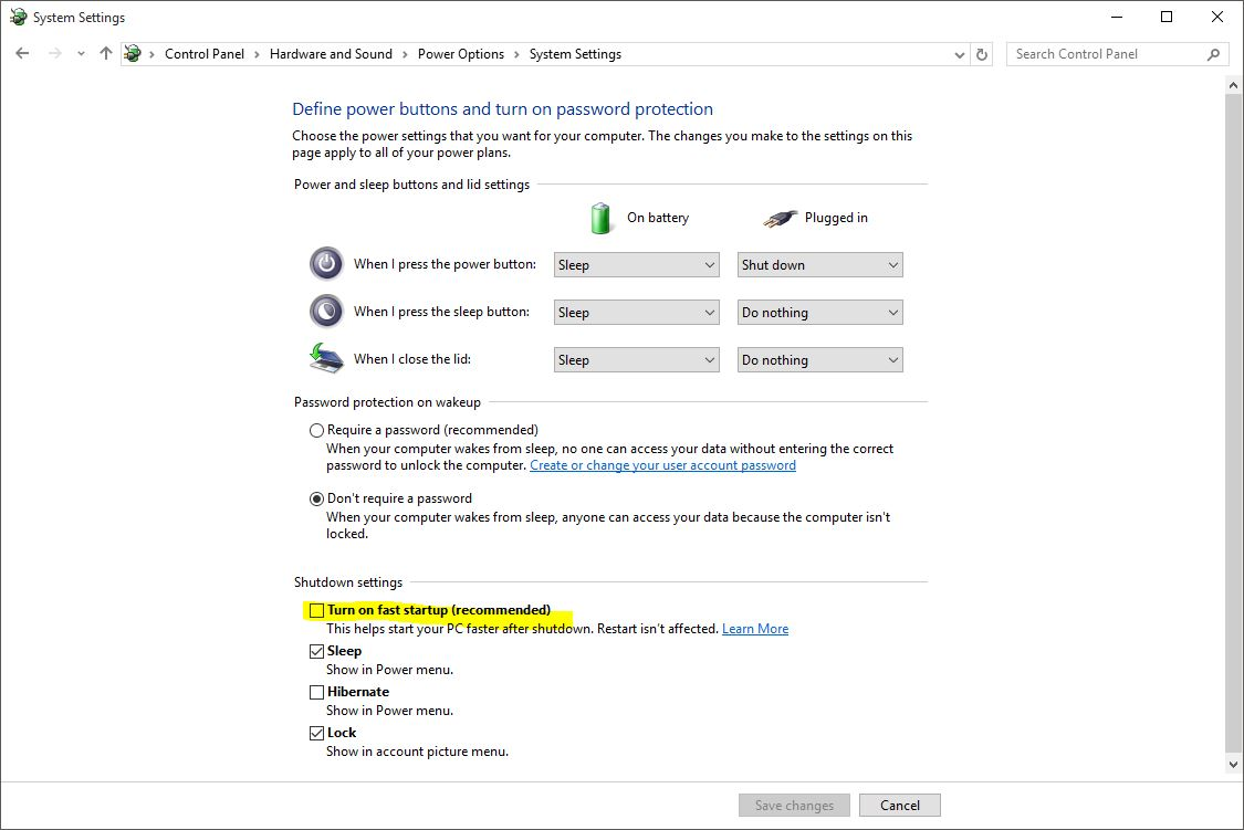 how to change startup programs for windows 10