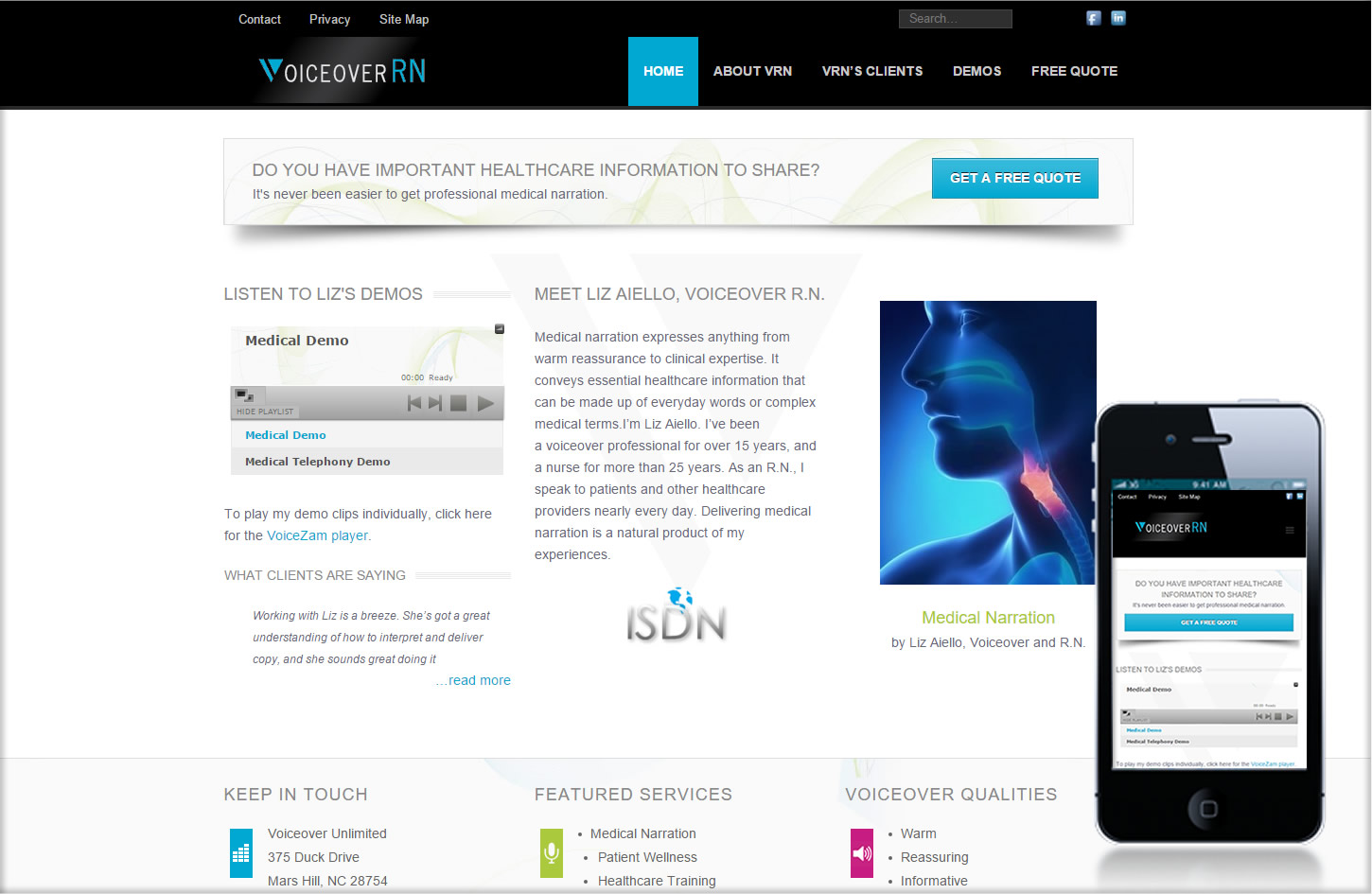 VORN_website